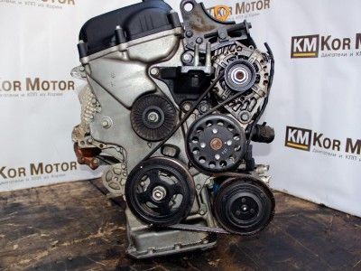 Двигатель G4FC Хендай Солярис, Киа Сид 1.6, 211012BW04, Hyundai I30, Getz, Elantra Kia Cerato, Ceed, Rio, Бензин