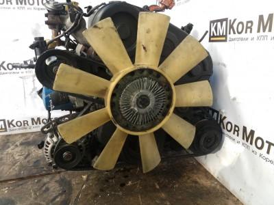 Двигатель D4BH Хендай Терракан 2.5, 2110142X00, Terracan, Дизель